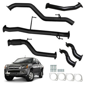 """HOLDEN RC COLORADO 07-12 FULL TD 3L 3""""INCH EXHAUST NO CAT / PIPE"""