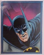 "New Vintage Dc Comics Batman Face 1989 Poster 28"" X 22"""