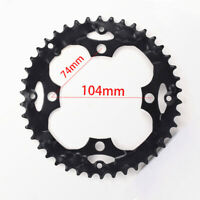 42T/32T 104BCD Hollow Chainring Bicyle 8/9/24/27 Speed Tooth Disc 50# Hard Steel