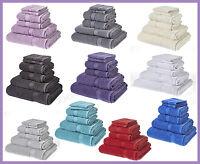Luxury 6PCS Towel Bale Set 100% Cotton 2 Hand, 2 Face,1 Bath Towels,1 Bath Sheet