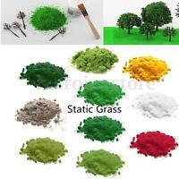 20/30/50g Static Grass Bag Model Scenery Flock Railways Wargames Meadow