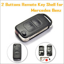 2 Buttons Remote Key Shell for Mercedes-Benz