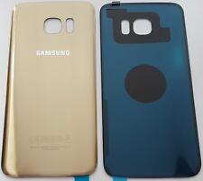 Samsung Galaxy S7 SM-G930F Akkudeckel Backcover Rückseite aus Glas Gold