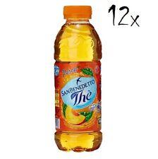 12x San benedetto Eistee Pfirsich The' Limone  PET 50 cl  tea the erfrischend