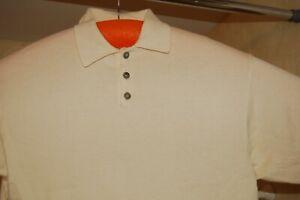 Greg Norman Lightweight Knit Sweater Short Sleeve, Shirt, Top, Large