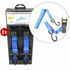 4x Sangle d'arrimage FH45628 Ceinture Ratchet Sangle Serrage à Cliquet