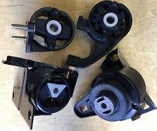 4pcSet fits 1998 1999 2000 Ford Contour Auto 2.5L Engine Transmission  Mounts