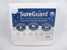"SureGuard White King Size Box Spring Encasement Block Bed Bugs Fits 8""-11"" Depth"