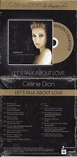 "CD CARDSLEEVE CÉLINE DION LET'S TALK ABOUT LOVE ""LES DISQUES D'OR"" FRANCE 2014"