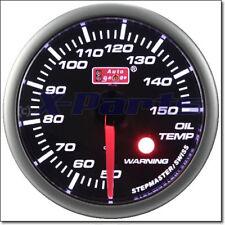 60mm pas a pas Jauge de température d'huile pour BMW FORD HONDA SKODA