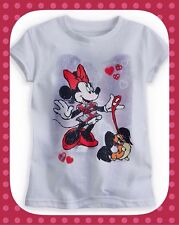 Disney KIDS MINNIE MOUSE Girl GRAPHIC TEE - XL (size 14)