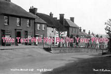 WI 100 - High Street, Wootton Bassett, Wiltshire - 6x4 Photo
