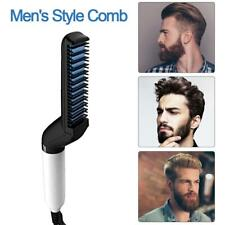 BeardBuddy Beard Straightening Electric Beard Hair Comb Men Curling Brush Styler