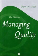 Managing Quality (Blackwell Business),Barrie G. Dale