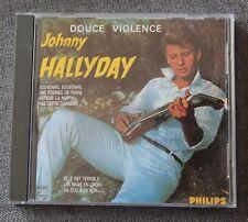 Johnny Hallyday, douce violence, CD Dial