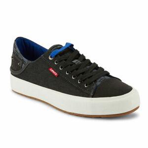Levi's Mens Neil Lo Monogram Casual Fashion Denim Lace-up Sneaker Shoe