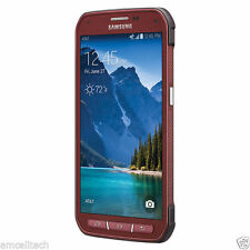 NEW Samsung Galaxy S5 Active SM-G870A 16GB RED (Unlocked/GSM Only) Smartphone