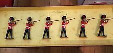 BRITAINS 8800 COLLECTORS EDITION GOLDSTREAM GUARDS 6PCS METAL TOY SOLDIER FIGURE