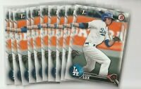 (10) Card Lot 2016 1st Bowman Draft Gavin Lux Rookie Dodgers #BD-67