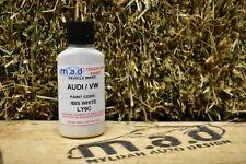 M.A.D AUDI IBIS WHITE LY9C PAINT TOUCH UP KIT 30ML A1 A3 A4 A5 A6 TT Q3 Q5 Q7 S
