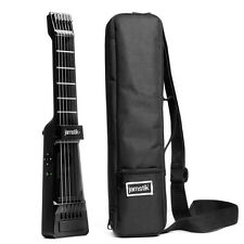 jamstik+ SmartGuitar MIDI Controller BLACK & Case Bundle Certified Refurbished