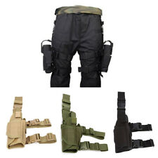 Adjustable Pistol Hand Gun Drop Leg Thigh Holster Pouch Holder Bag Outdoor Pouch
