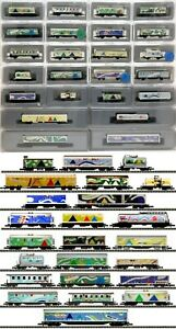 MARKLIN Z SCALE  ADVENT SET  243 Assorted Cars Original Boxes C9 NO DISPLAY CASE
