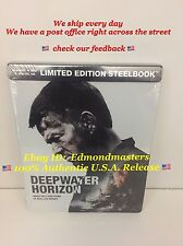 Deepwater Horizon 2017 Blu-Ray DVD Digital HD Steelbook Brand New Sealed!!