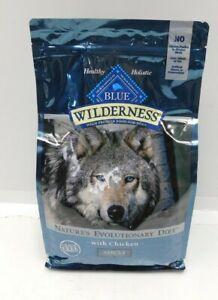 Blue Buffalo Wilderness Adult High Protein Dog Food 4.5 lbs Grain Free Chicken