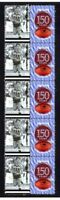 PORT ADELAIDE FC 150th of FOOTBALL STRIP OF 10 VIGNETTE STAMPS
