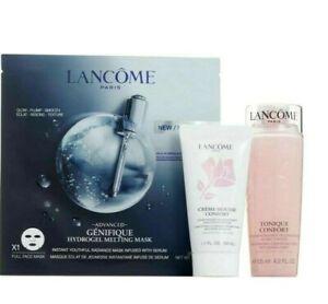 New LANCOME Creme Mousse Confort Cleanser & Tonique Confort Toner & A Mask