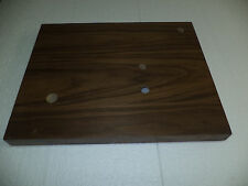 PLINTH UPGRADE FOR  REGA TURNTABLES RP1,Planar 2,RP3 etc + Motor Pulley walnut