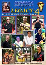 4 DVD Box Serrada Escrima Seminar Hawaii 2016 Kali Arnis Eskrima Legacy