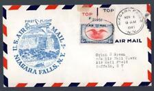 1¢ WONDER'S ~ US 1941 NIAGARA FALLS NEW YORK AIRPORT DEDICATION ~ P328