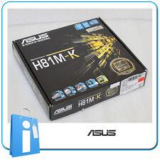 Placa base mATX H81 ASUS H81M-K Socket 1150 con Accesorios