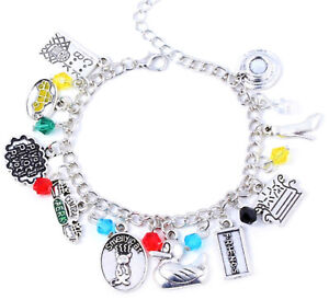 TV Show Merchandise Charm Bracelet -Friends charm bracelet, USA Ship!