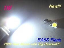 6pcs BA9S 1895 Flank High Power LED (White) Bulbs