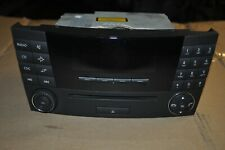 MERCEDES E220 2005 RADIO / CD PLAYER CONTROL PANEL / UNIT A2118702189
