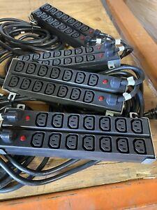Lot of 8x HP 411273-002 HSTNR-PS03 Modular PDU Extension Bar