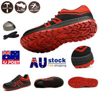 Flying Woven Breathable Protective Shoes Anti-slip Wear-resistant Work Shoes AU