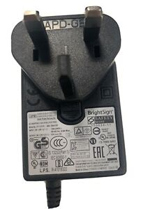 BrightSign XD and XT Series 3 and 4 Genuine power Adapter.