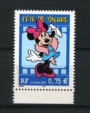 DISNEY. MINNIE. BD. Fête du timbre 2004 - Y&T n°3643 cote 2,00€