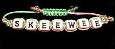 Divine 9 Inspired Sorority Pink/Green Stylish Bracelet- SkeeWee