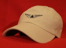 ARMY AIRCREW Basic Aviator Wings Ball Cap, low-profile embroidered hat Stone/tan