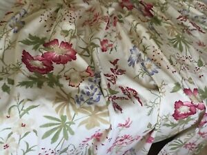 Laura Ashley M.T.M Vintage pinchpleat Neisha curtains, lovely condition.