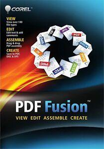Corel PDF Fusion Document Management Suite! Free Shipping!
