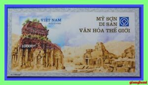 Vietnam Imperf S/S My Son - The World Culture Heritage MNH