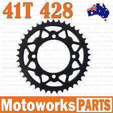 41 Teeth 428 Rear Back Chain Sprocket Cog 125cc PIT PRO TRAIL QUAD DIRT BIKE ATV