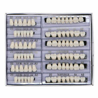 168pc Dental Acrylic Resin Denture 22# A2/A3 Full Set Teeth Upper Lower Tooth