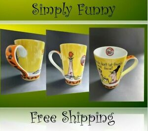 ⭐️✨ Simply Funny Coffee Mug Cup - Friend don't let friends drink decaf - NEW